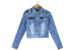 62087 куртка женская, джинсовая