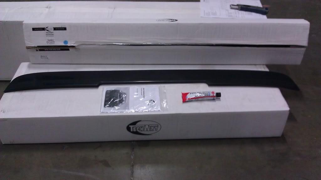 козырек на заднее стекло Porsche Panamera 2010-2012г