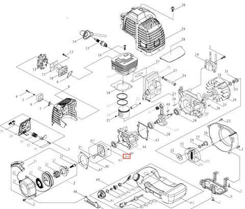 Шайба разрезная 4 для лодочного мотора T3,5 Sea-PRO