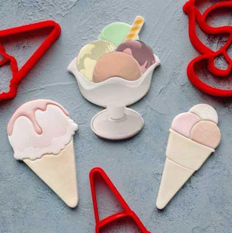 Комплект Мороженое
