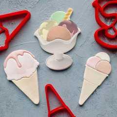 Комплект форм Мороженое для пряника