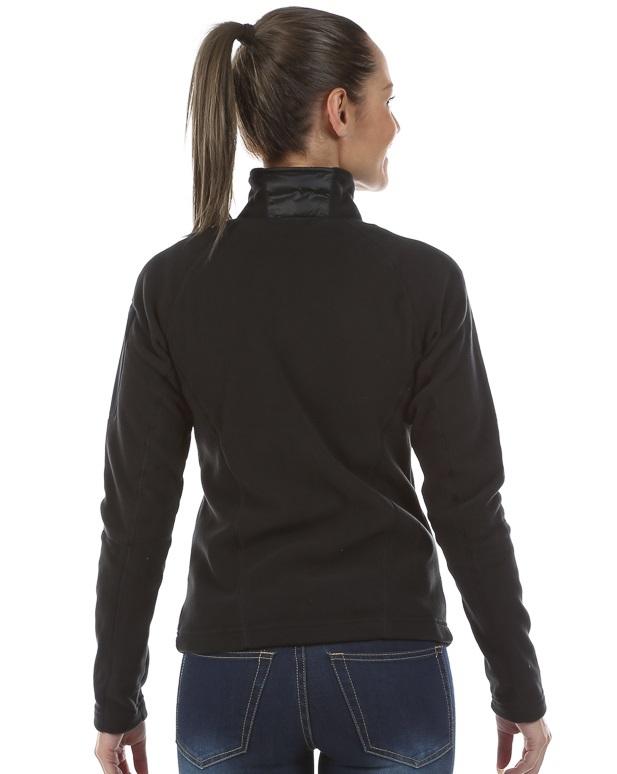 Женская толстовка 8848 Altitude CHERRY MICRO black (677108) сзади