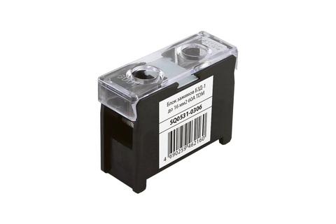 Блок зажимов БЗД-1 до 16 мм2 60A TDM