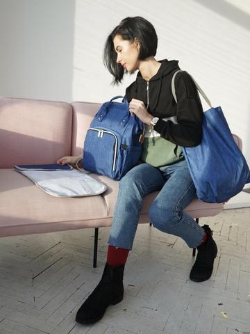 Рюкзак ChicMama Bags синий