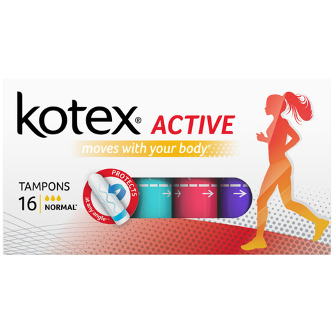 Тампоны Kotex Active Normal 16шт