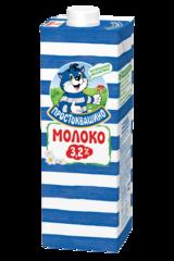 """Молоко """"Простоквашино"""" ультрапастеризованное 3,2 %, 950 мл"""