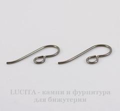 Швензы-крючки TierraCast 20х8 мм (цвет-античное серебро), пара