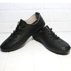 Туфли кроссовки женские Evromoda 115 Black