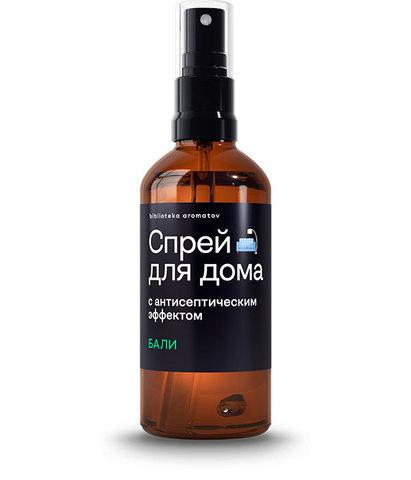 Спрей антисептический для дома и текстиля Бали, Библиотека ароматов
