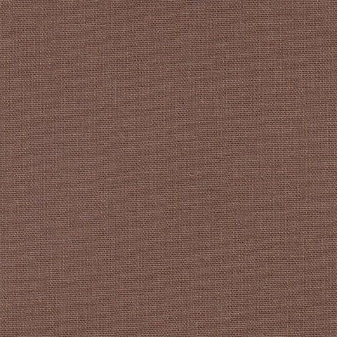 Простыня на резинке 200x200 Сaleffi Raso Tinta Unito с бордюром сатин коричневая