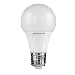 Лампа светодиодная E27 7W 3300K шар матовый 4690389054488