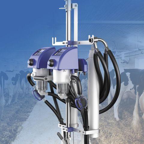 Подвесная линия | Счетчики молока для подвесной линии