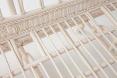 Комплект  для отдыха Мишель (MICHELLE) ( стол + диван + 2 кресла ) — Elephant Ivory (слоновая кость) (цвет ткани кремовый)