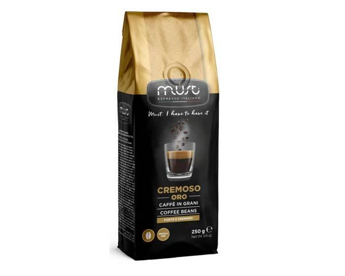 Кофе в зернах Must Cremoso Oro, 250 г