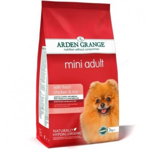 ARDEN GRANGE ADULT DOG MINI CHICKEN & RICE 15 кг