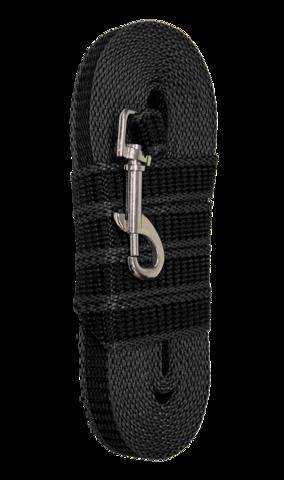 Зооник поводок капроновый с двойной латексной нитью 5м* 20мм, серия