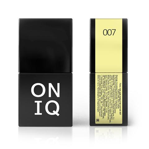 OGP-007 Гель-лак для покрытия ногтей. PANTONE: Elfin yellow