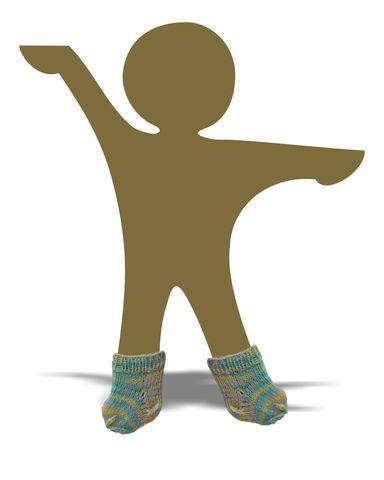 Носки - Демонстрационный образец. Одежда для кукол, пупсов и мягких игрушек.