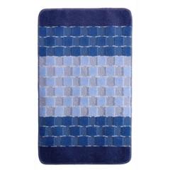 Коврик для ванной BANYOLIN SILVER 60х100 см ворс, голубой