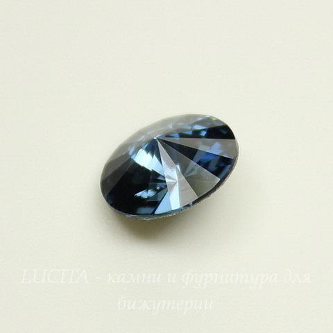 1122 Rivoli Ювелирные стразы Сваровски Denim Blue (SS39) 8,16-8,41 мм