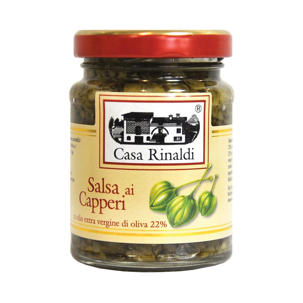 Крем-паста Casa Rinaldi Сальса из каперсов 90г