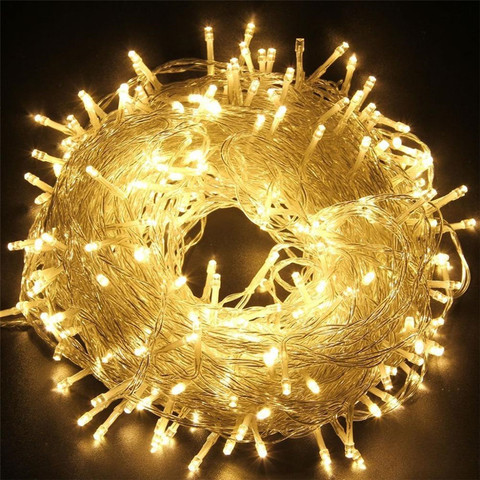 Гирлянда на елку новогодняя для дома 500 LED
