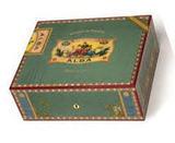 Хьюмидор Elie Bleu ALBA 75 cigars Green pistachio sycamore