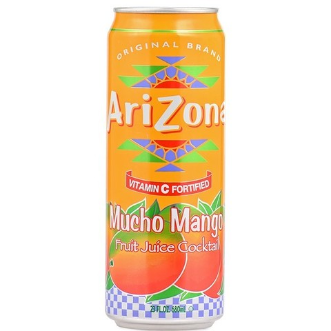 Arizona Mucho mango fruit juice cocktail со вкусом манго 680 мл