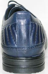 Туфли спортивные мужские кожаные Bellini 12405 Blue