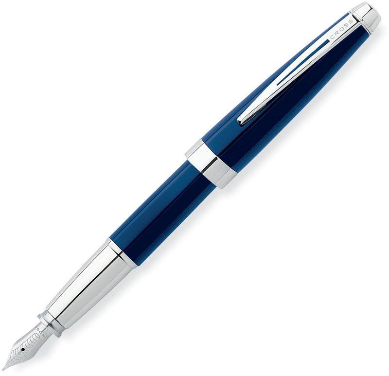 Cross Aventura - Blue, перьевая ручка, M, BL