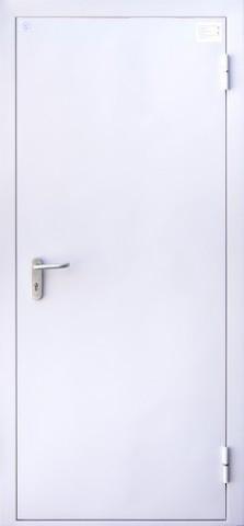 Дверь входная Алмаз ДМП 01/60, 1 замок, 1,2 мм  металл, (RAL 7035+RAL 7035)
