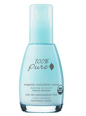 Органический крем для лица «Огуречный сок», 100% Pure