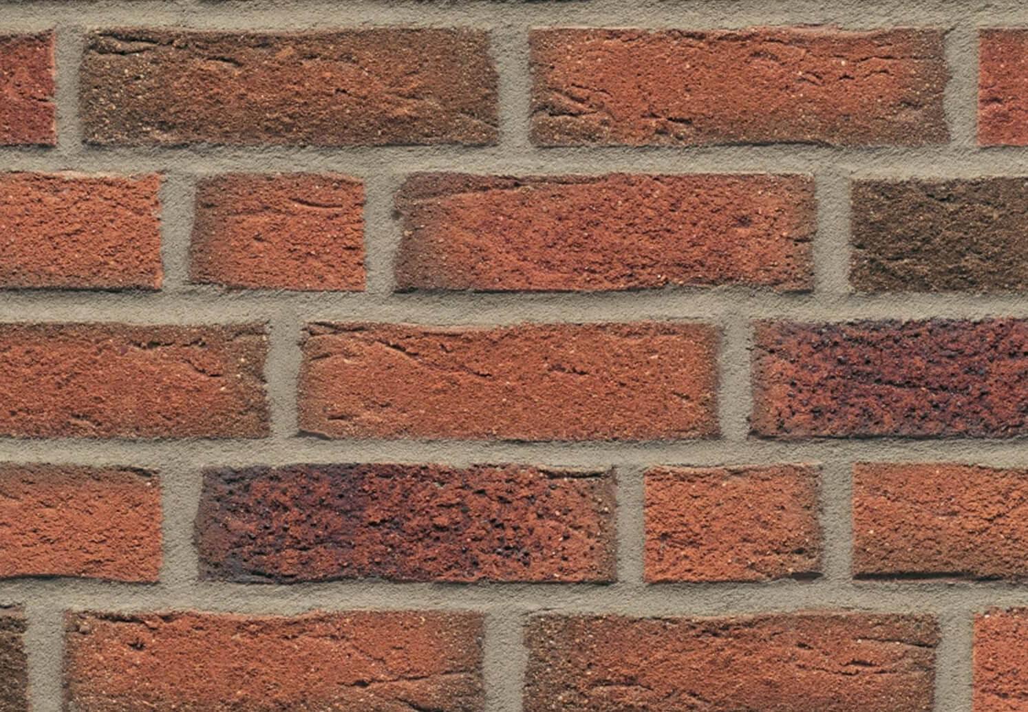Feldhaus Klinker - R687NF14, Sintra Terracotta Linguro, 240x14x71 - Клинкерная плитка для фасада и внутренней отделки