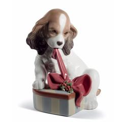 Lladro 1008692 — Статуэтка CAN'T WAIT! CHRISTMAS