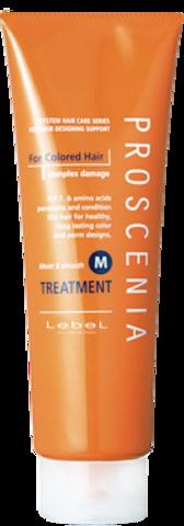 Маска по уходу за прямыми волосами  PROSCENIA TREATMENT M, 240 мл.