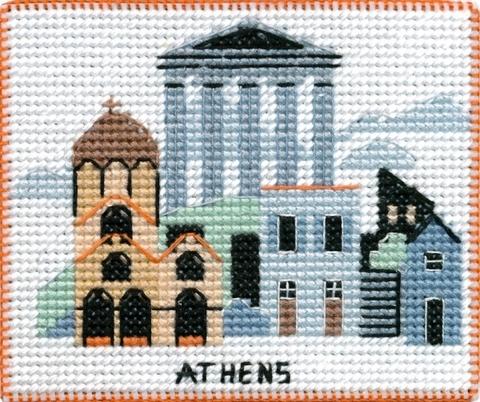 OVEN-1055 Столицы мира. Афины