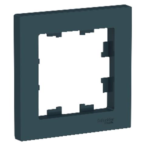 Рамка на 1 пост. Цвет Изумруд. Schneider Electric AtlasDesign. ATN000801
