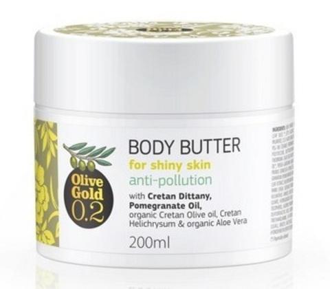 Увлажняющий крем масло для тела Olive Gold 200 мл