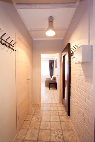 вид из коридора