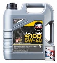 LiquiMoly Top Tec 4100 5W-40 SN/CF;A3/B4/C3 (4л)