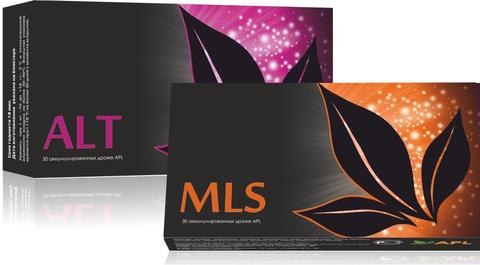 APL. Набор Аккумулированные драже APLGO MLS и ALT для избавления от паразитов и устранения аллергии