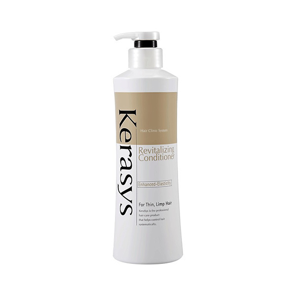 Кондиционер для волос оздоравливающий KeraSys Hair Clinic System Revitalizing Conditioner Enhanced-Elasticity Supplying Strength 400мл