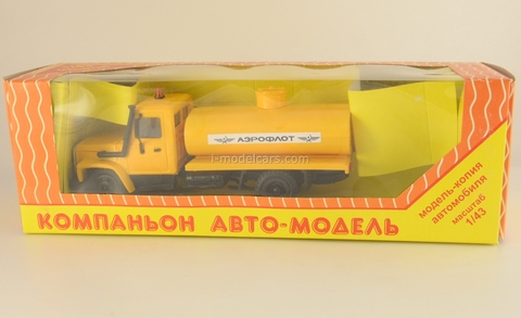 GAZ-3309 tank Aeroflot Kompanion 1:43