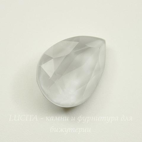 4320 Ювелирные стразы Сваровски Капля Crystal Powder Grey (18х13 мм)