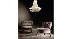 Italamp 2318 100 PVC Glitter Oro W Sw_Elements — Потолочный подвесной светильник SOON