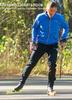Мужская утепленная разминочная куртка Nordski Premium синяя