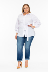 Блузка Тильда с объемными рукавами 219601