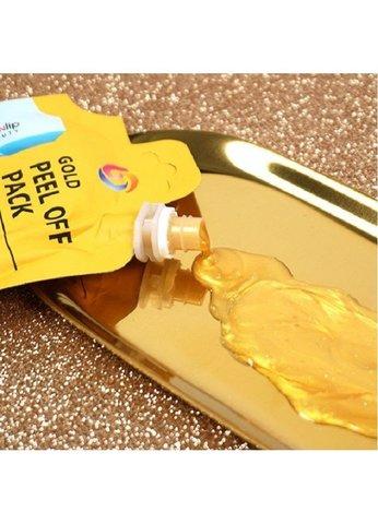 Маска-пленка очищающая Eyenlip Gold Peel Off Pack