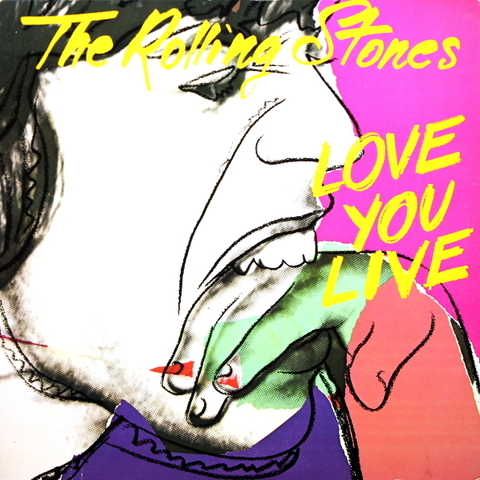 The Rolling Stones ‎/ Love You Live (2LP)