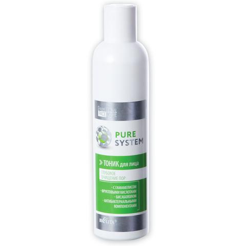 Белита Pure System Тоник для лица глубокое очищение пор 250мл